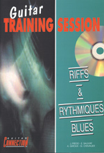 Guitare training session - Riffs et rythmiques blues