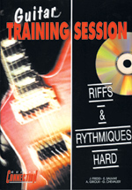 Guitare training session - Riffs et rythmiques hard