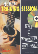 Guitare training session - Riffs et rythmiques unplugged